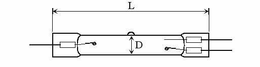 OZONE QUARTZ LAMPS - Lamp Type: O3DAS - null
