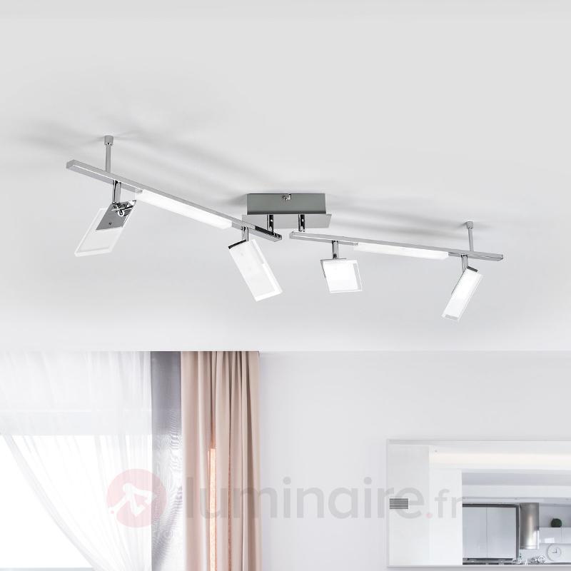 Puissant plafonnier LED Teda - Plafonniers LED