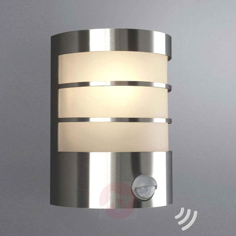 IR wall outdoor lamp CALGARY - stainless-steel-outdoor-wall-lights
