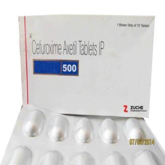 Cefuroxime Axetil Tablets - Cefuroxime Axetil Tablets