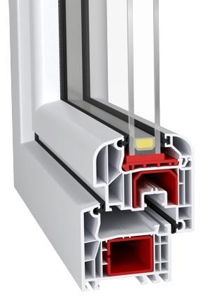 Id 4000-70 (PVC Windows - Aluplast) - Id4000 70mm PVC Turn&Tilt Window