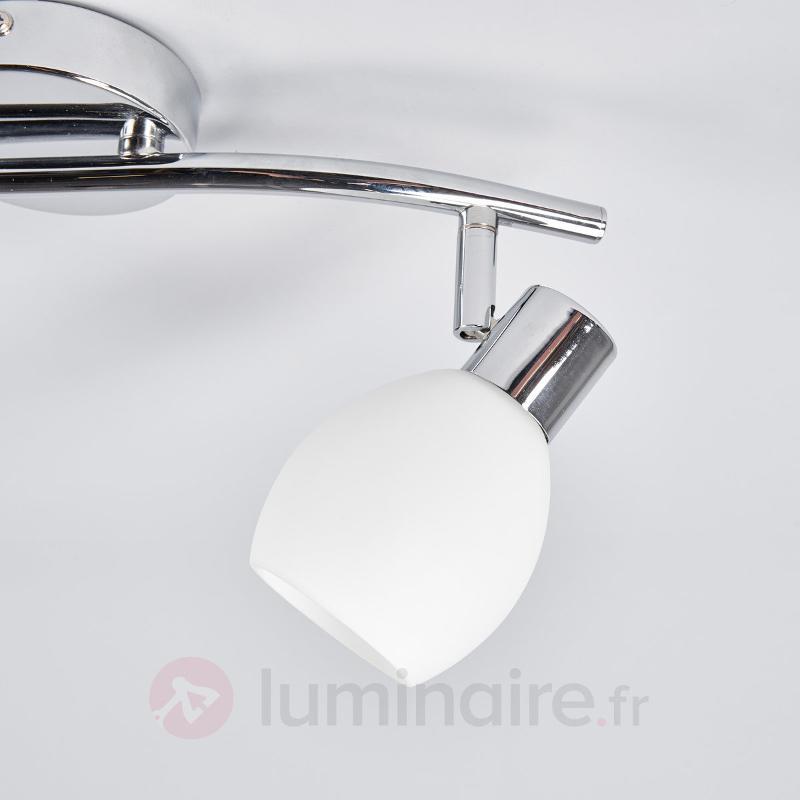 Plafonnier LED à deux lampes Aidan - Appliques LED