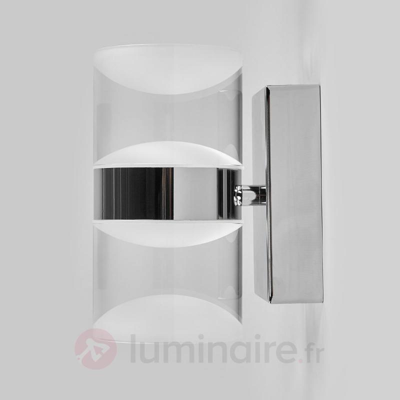 App. mur. LED Ria sdb éclairage haut et bas - Salle de bains et miroirs