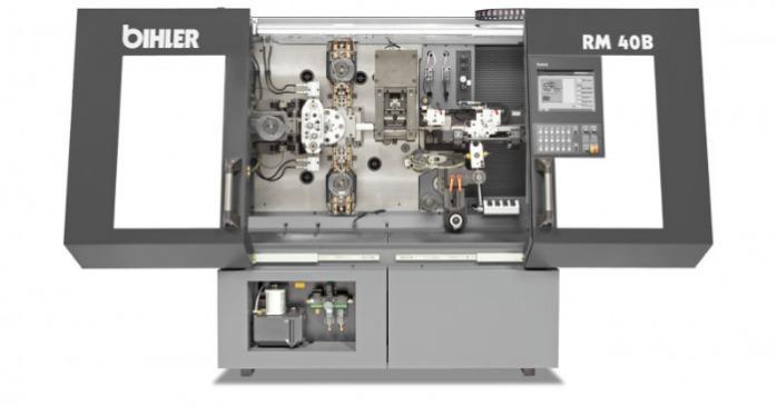 Máquina de casquillos RM 40B - Sistema de producción estandarizado para la producción en masa de casquillos