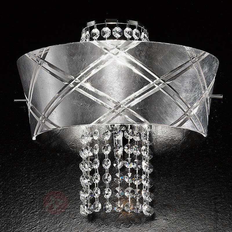 Applique noble MEDUSA 1 lumière - Appliques en cristal