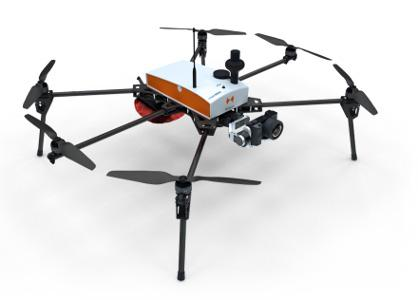 Fox6, multirotor drone for accurate topography