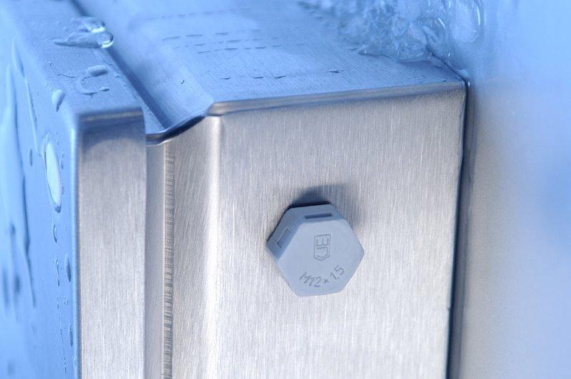Elemento di sfiato JDAE acciaio inossidabile - protezione per custodie contro l'acqua di condensa