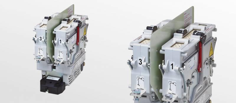 Power contactors CT for AC and DC - 1 and 2 pole version for DC (bidirectional) and AC