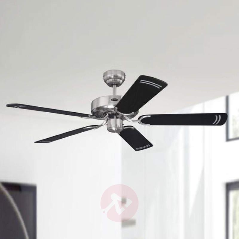 Cyclone ceiling fan in elegant black - fans