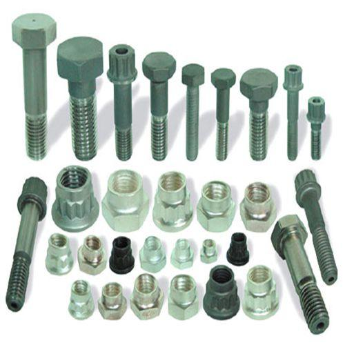 High and low temperature alloy fastener type