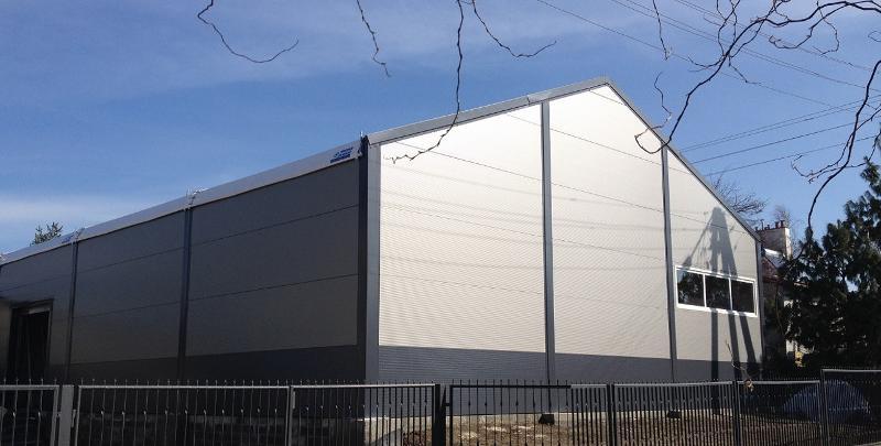 Fenêtre en PVC - Accessoires Tentes de Réceptions Alu, Halls sportifs