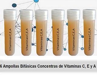 Tratamiento Ampollas Bifásicas De Vitaminas C, E, A - null