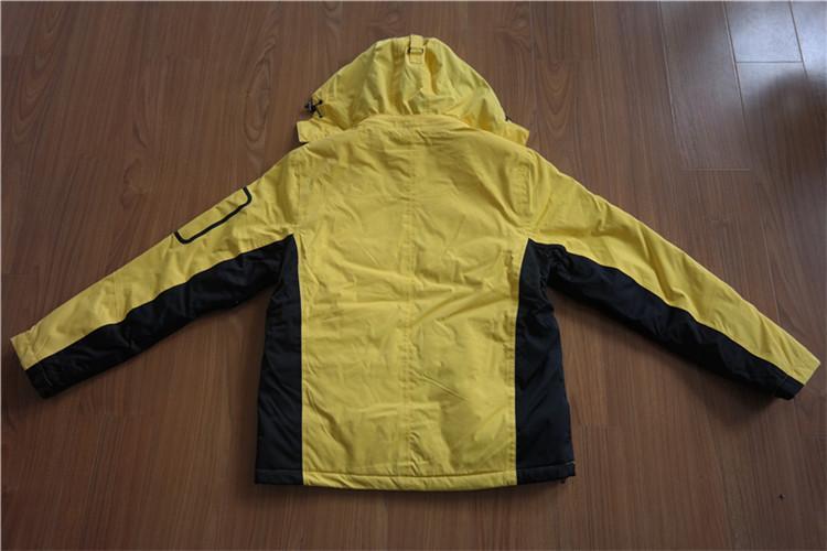 Men's / women'/ children's taslon adhesive clothes rash guard with cotton filled - YH16-43MTK