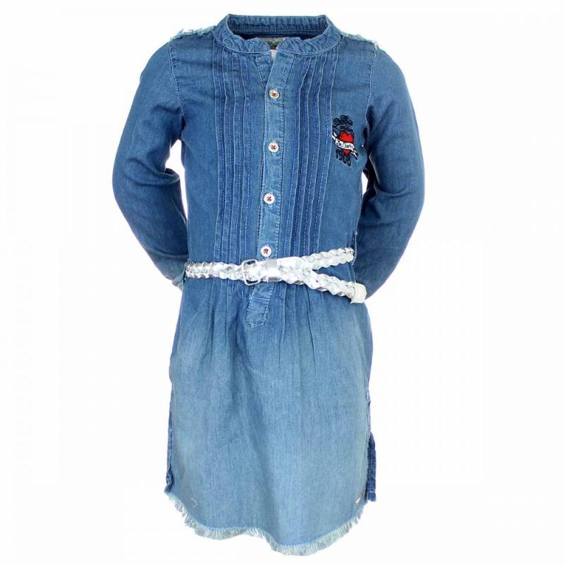 5x Robes en jeans Lee Cooper du 4 au 12 ans - Robe Jupe et short
