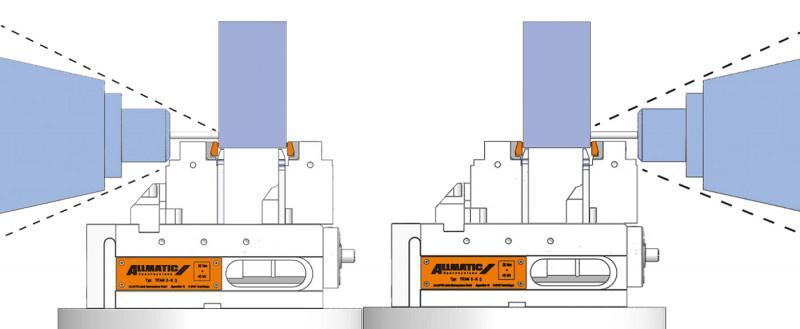 Version TITAN 2 K Clamp assist - Konventionelles Spannen, Grippspannen und Niederzugspannen in einem
