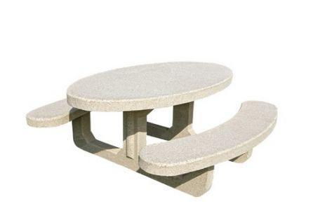 Table pique nique Récife béton - Aménagement extérieur