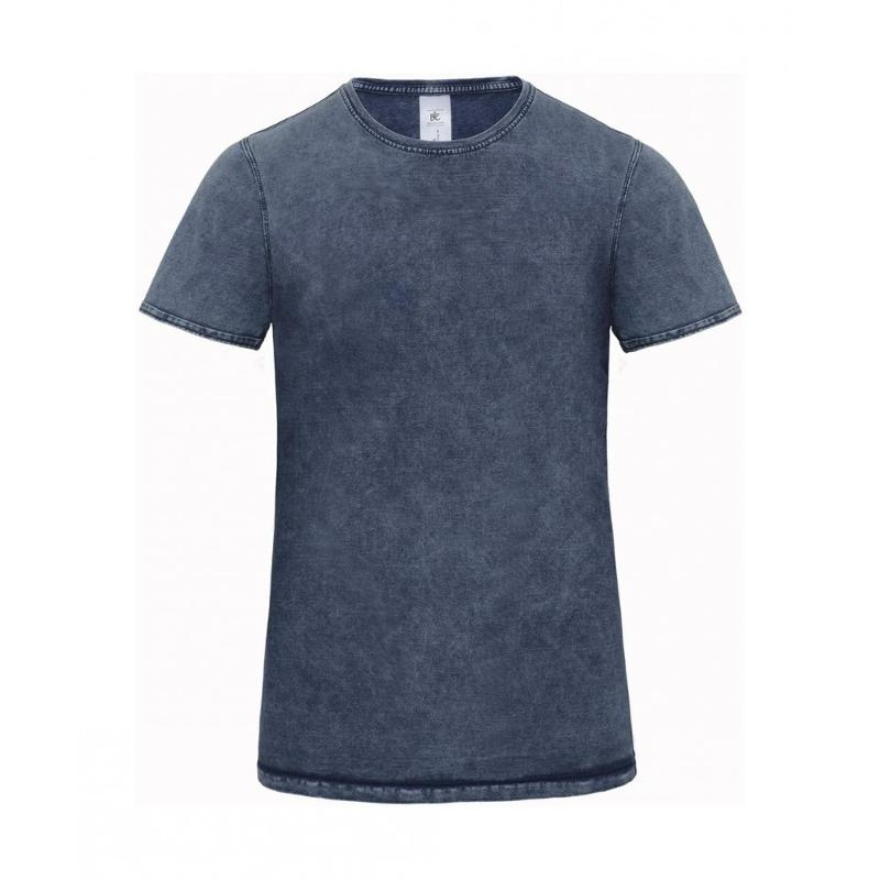 Tee-shirt Denim Effect - Manches courtes