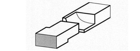 TBGT Taglio baionetta a tenuta di gas tondo - Tipologie di taglio per fasce elastiche a Milano