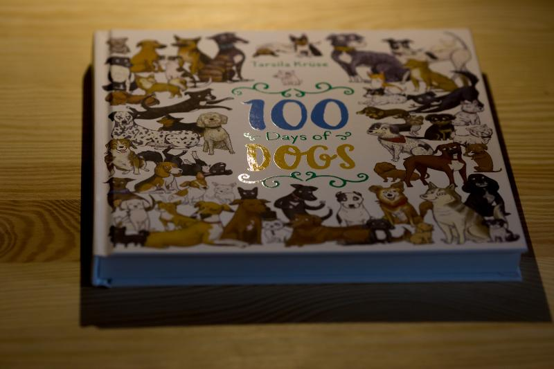 100 Days of Dogs - Hardcover book
