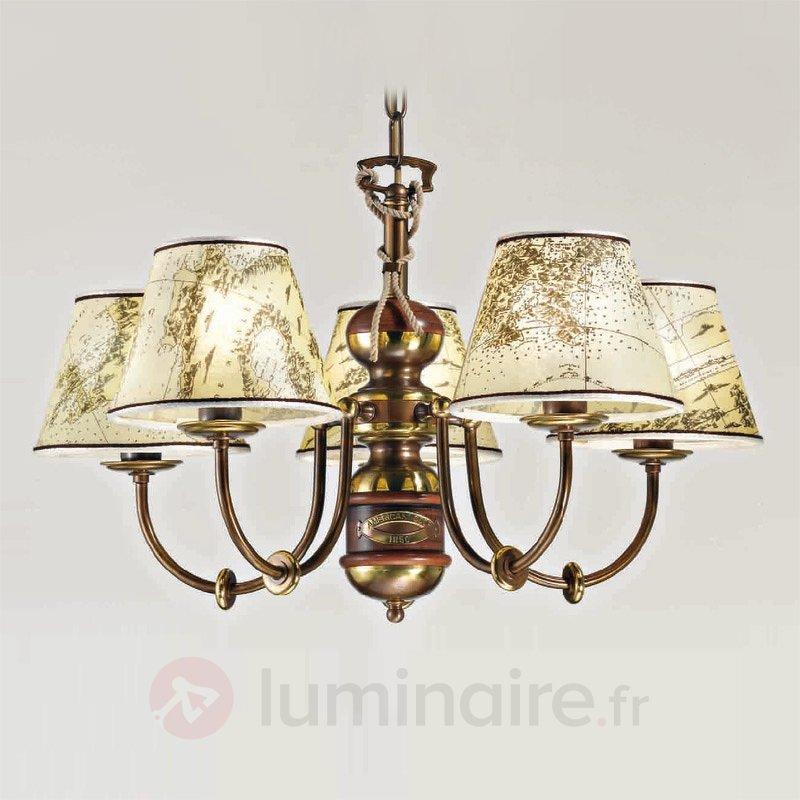 Lustre imposant Nautica 5 lampes - Lustres classiques,antiques
