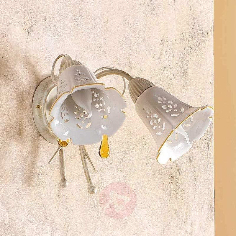 2-bulb GOCCE wall light - Wall Lights