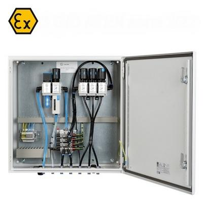 Explosion proof control panel