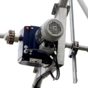 Motorreductor para ventilación cenital