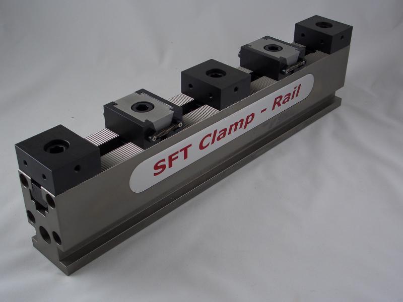 SFT Clamp-Rail Spannschienenset, Länge 500 mm / Breite 50 mm - null