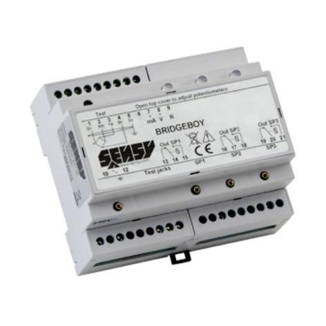 LOAD LIMITATION ELECTRONICS WITH 1 OR 3 SET POINTS - BRIDGE-BOY