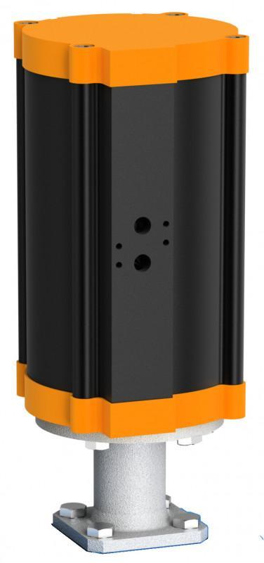 Cilindro lineal neumático tipo EC - La serie de cilindros lineales Ec incluye 6 tamaños.