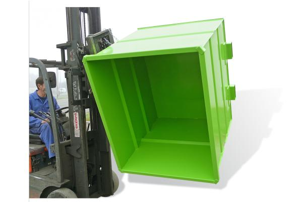 Benne pour chariot à tête rotative - Bennes de manutention