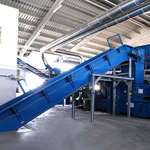 Chain conveyor -