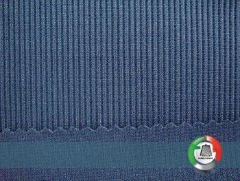 Cotton Spandex 1x1 Rib Fabric -  20/1 Combed Cotton Spandex 1x1 Rib