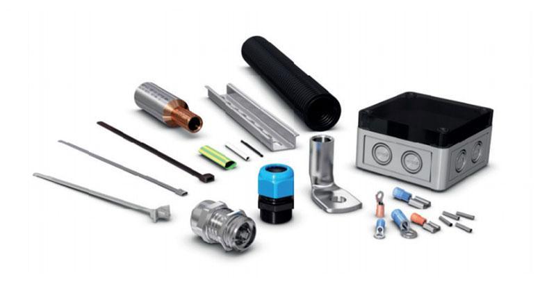 Bossard Elektrotechnische Verbindungselemente  - Bossard liefert Ihnen alles rund ums Kabel