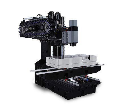 5-Achs-Bearbeitungszentrum - VMX 42 HSRTi - Schwenkkopf/Rundtisch-Konfiguraton für fertigung mit hoher Variantenvielfalt