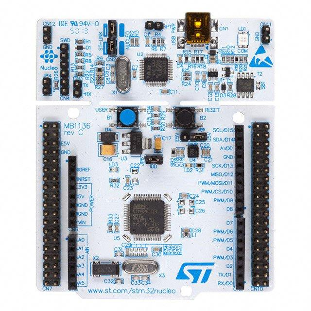 BOARD NUCLEO STM32F1 SERIES - STMicroelectronics NUCLEO-F103RB
