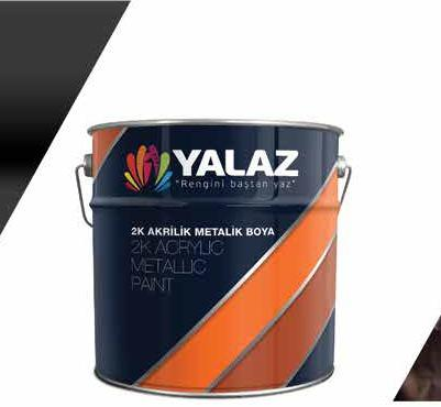 2K Acrylic Metalic Paint -