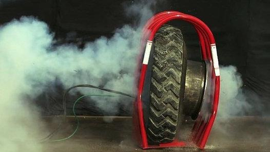 Cages de gonflage de sécurité pour pneumatiques HB