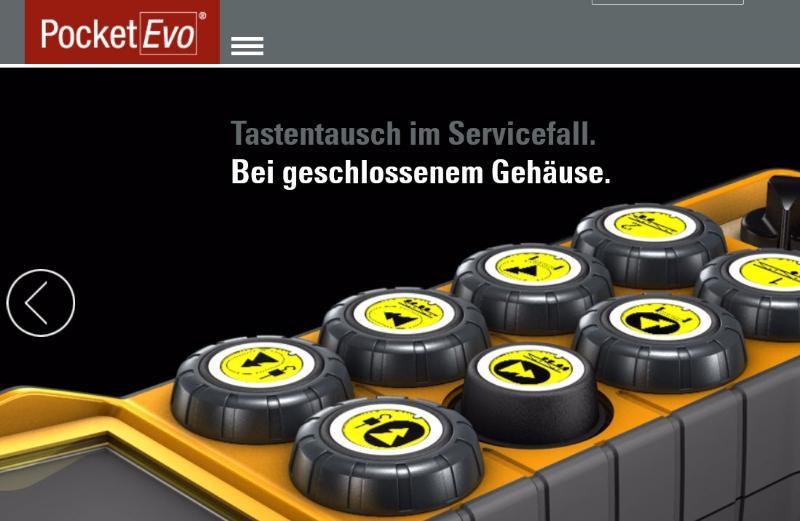 PocketEvo® - Tastensender neuen Generation