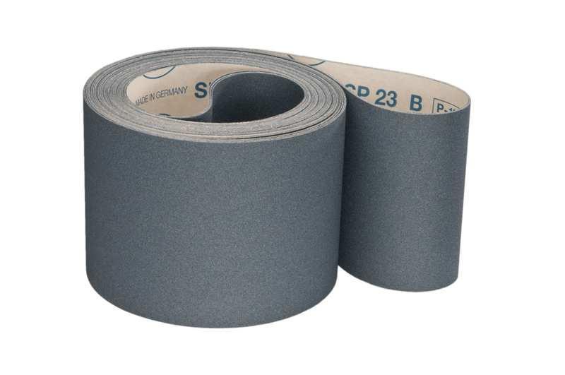 Schleifbänder für Lack / Farbe SP23B - Körnungen: P180, P220, P240, P280, P320, P360, P400, P500, P600