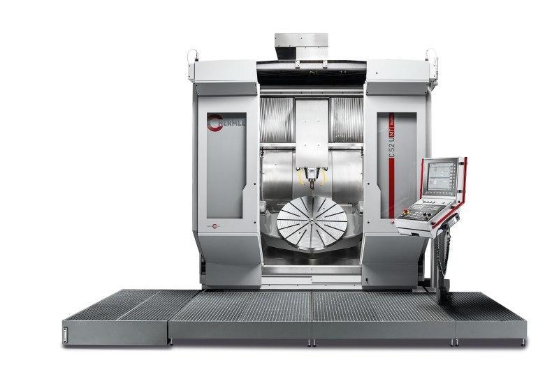 Machining centre C 52 - Flexible multitalent - large working area, minimum footprint - milling & turning