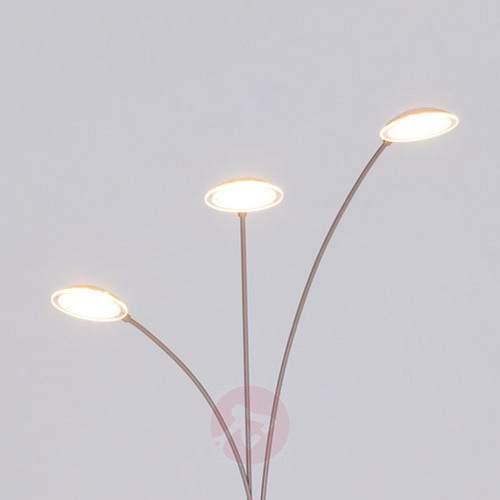 3-Light LED arc lamp Sirina - Floor Lamps