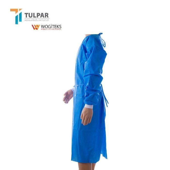 Χειρουργικά ιατρικά φορέματα SMS μη υφασμένα, SMS, PP + PE - 2021 Νέα προϊόντα PP PE SMS SF μη στείρα χειρουργικά φορέματα μίας χρήσης