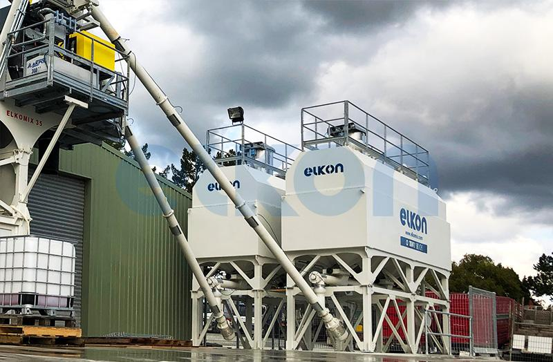 Mobile & Horizontal Cement Silos - CEMENT SILOS AND CEMENT DELIVERY SYSTEMS
