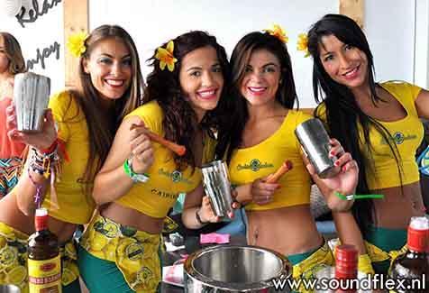 Cocktailgirls  - Tropische Cocktailbar & show
