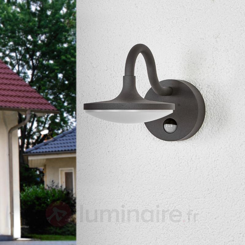 Applique d'extérieur LED Finny avec détecteur - Appliques d'extérieur avec détecteur