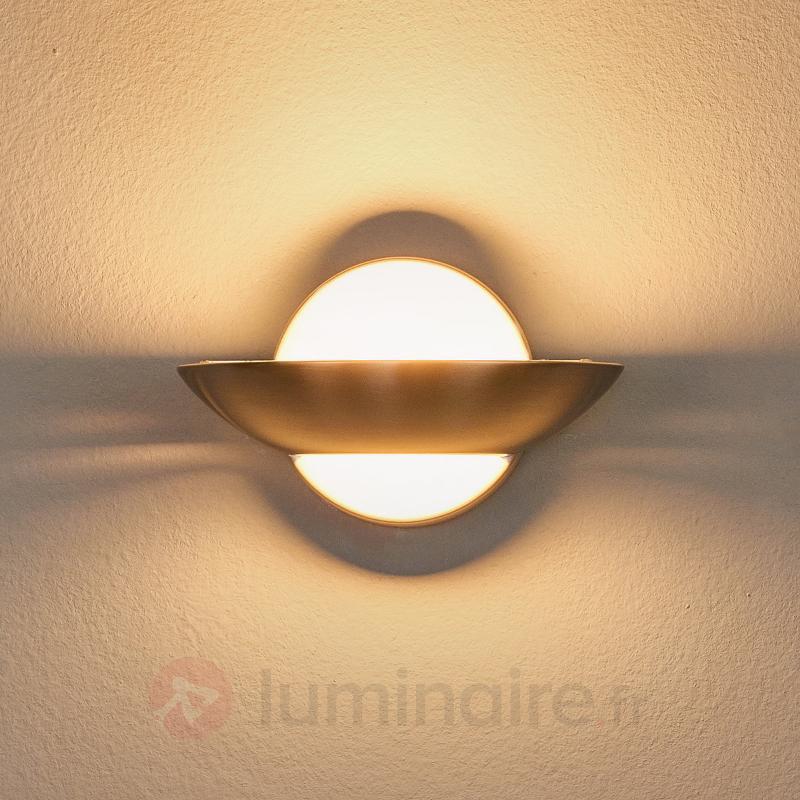 Applique métallique LED esthétique Matti - Appliques LED