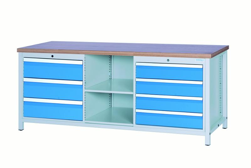 Workbench 2000 with 6 drawers - 03.20.17VA