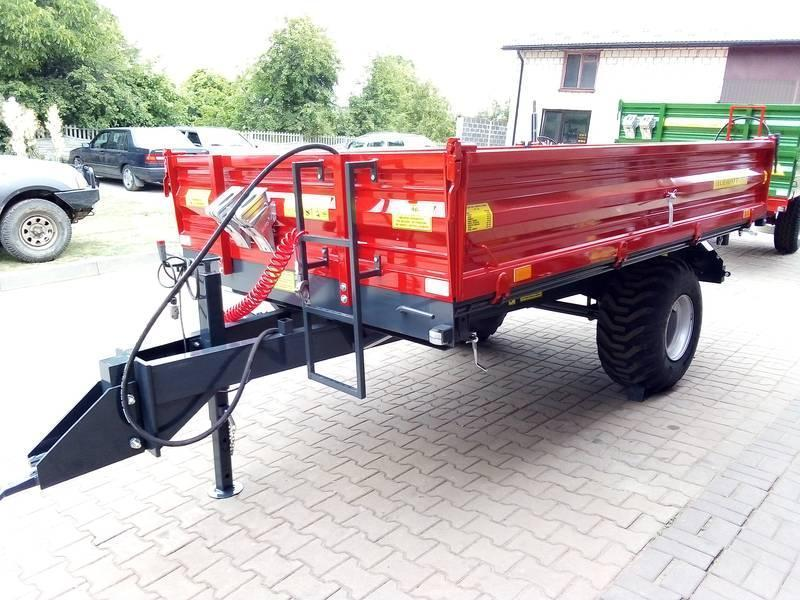 Trailer T-151/1 Load capacity: 3500kg - null