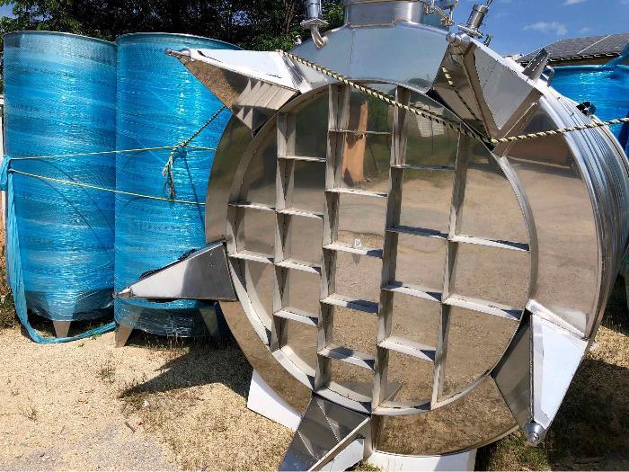 Depósito de acero inoxidable 304 - 105 HL - SPAIPSER10500